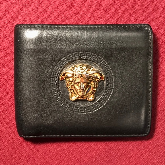 aa03c59197 Versace Palazzo Calf Leather Wallet. M_5c54f632aaa5b81635e589fa. Other  Accessories ...